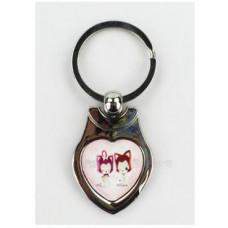 心形金屬鑰匙圈