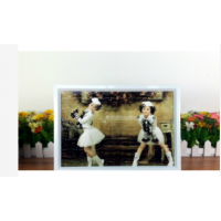 【i930個性小舖】A4拼圖相框  (含拼圖)  -- 白色