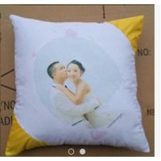 【i930個性小舖】對角抱枕--黃色