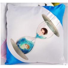 【i930個性小舖】對角抱枕--天藍色