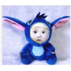 【i930個性小舖】變臉娃娃--藍色史迪仔(11cm)