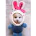 藍色美人兔(8cm)