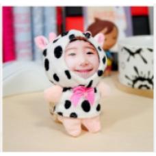 【i930個性小舖】變臉娃娃--斑點牛(8cm)