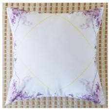 花邊抱枕(紫色)