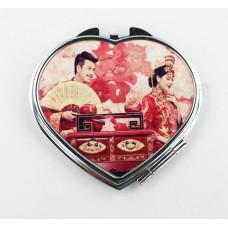 【I930個性小舖】心型化妝鏡