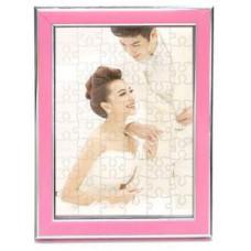 A4拼圖粉色相框  (含拼圖)